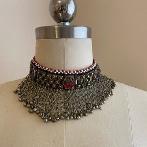 Jewelry - Silver Afghan Choker